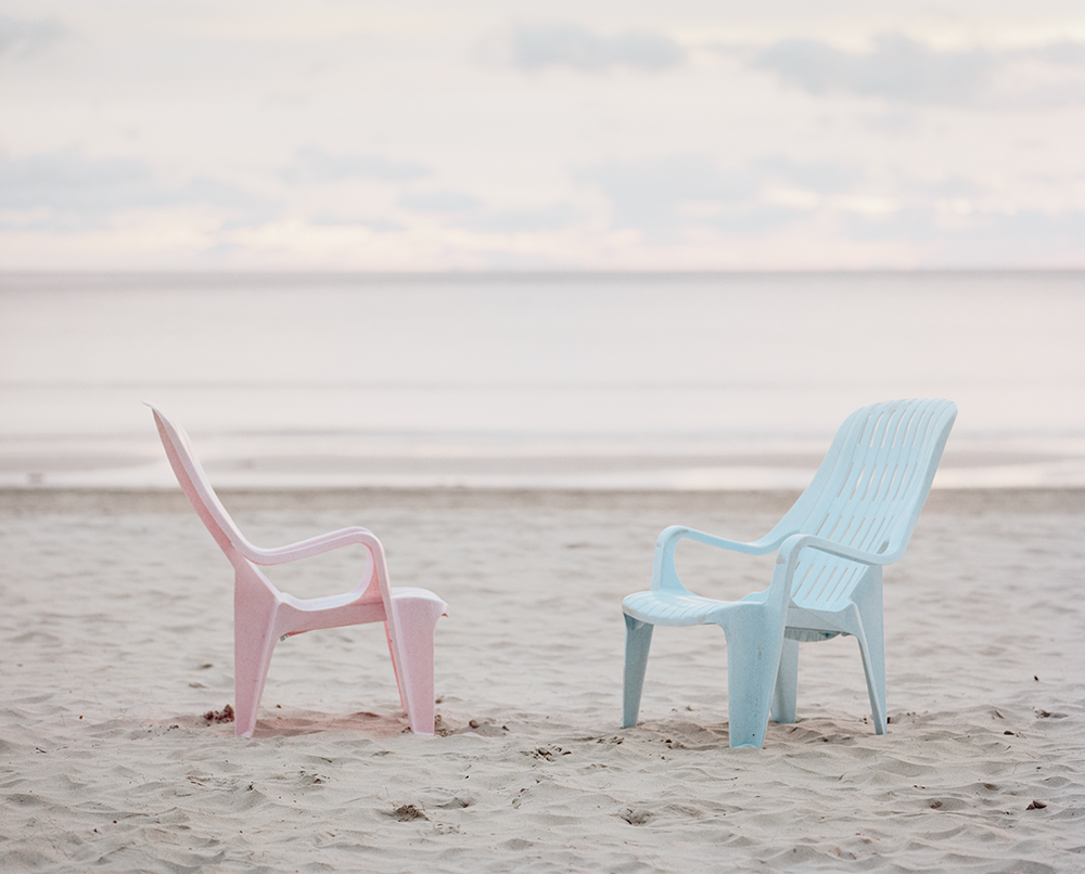 Stühle, 1998, 103x83cm ©frank darius